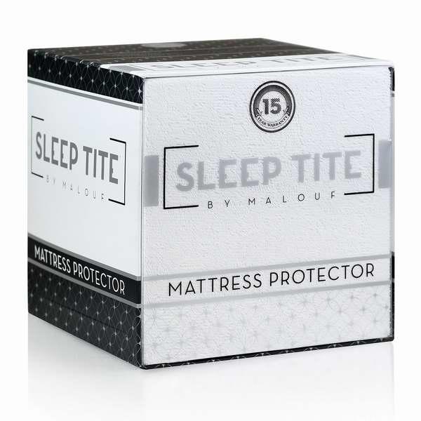 通气防水防过敏防尘螨!Malouf Hypoallergenic 100%防水Queen床垫保护套33.99元限时特卖并包邮!