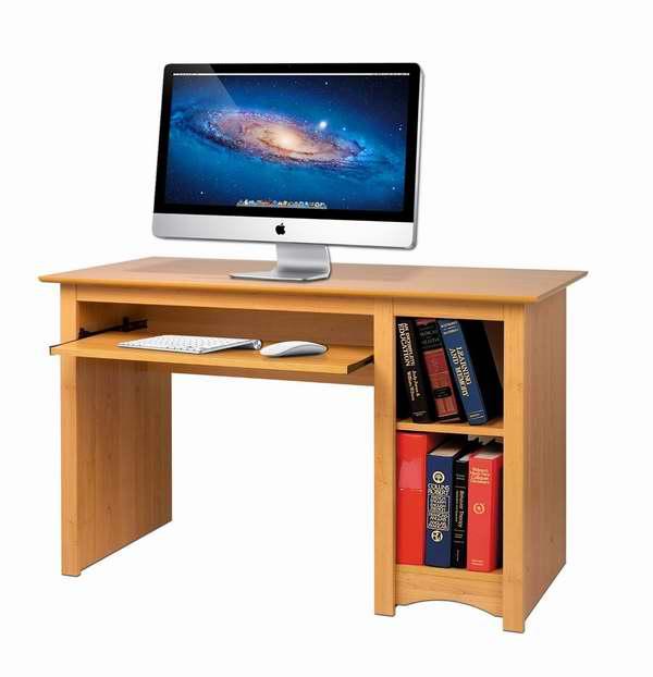 Prepac MDD-2948 1.22米电脑办公桌4.4折 77.39元限时特卖并包邮!