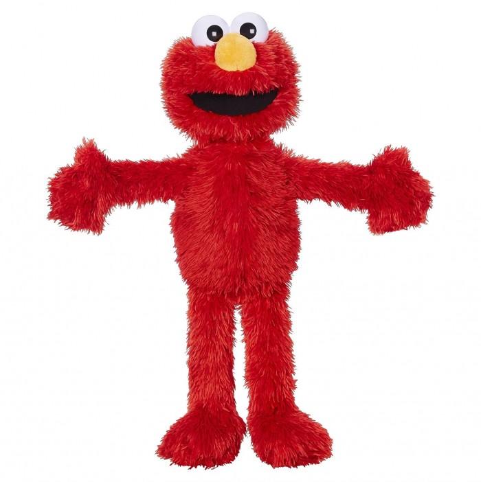 Sesame Street  芝麻街艾摩ELMO大鸟公仔毛绒玩具30元特卖,原价79.98元,包邮