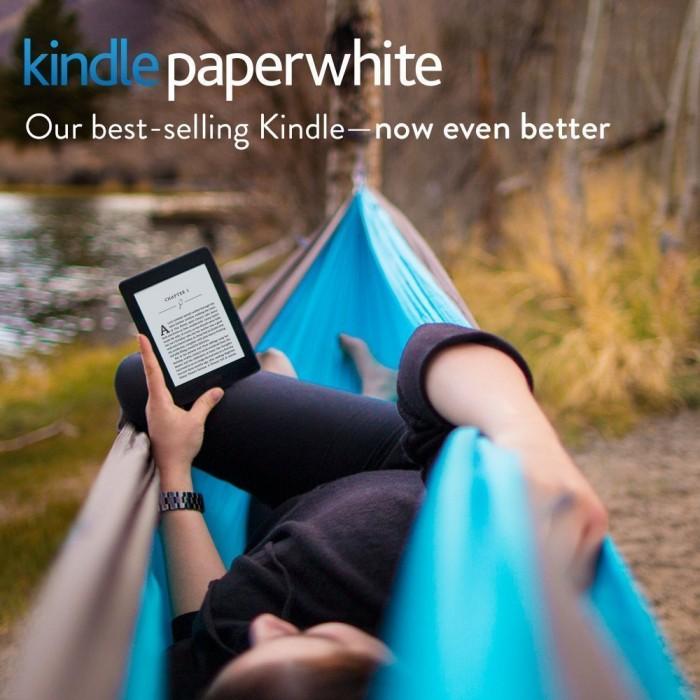 看书不伤眼!Kindle 6寸 Paperwhite 高分辨率带背光电子书阅读器 109.99加元包邮!会员专享!