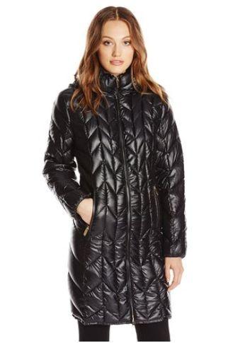 Via Spiga 女士带帽防寒服(两种颜色可选)37.78元特卖,原价365元,包邮