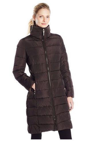 Calvin Klein 女士长款防寒服(两种颜色可选)58.5元特卖,原价390元,包邮