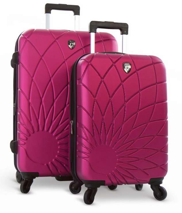 Heys Solar 21寸 & 26寸硬壳可扩展轻质拉杆行李箱2件套2.2折 135元限时特卖并包邮!4色可选!