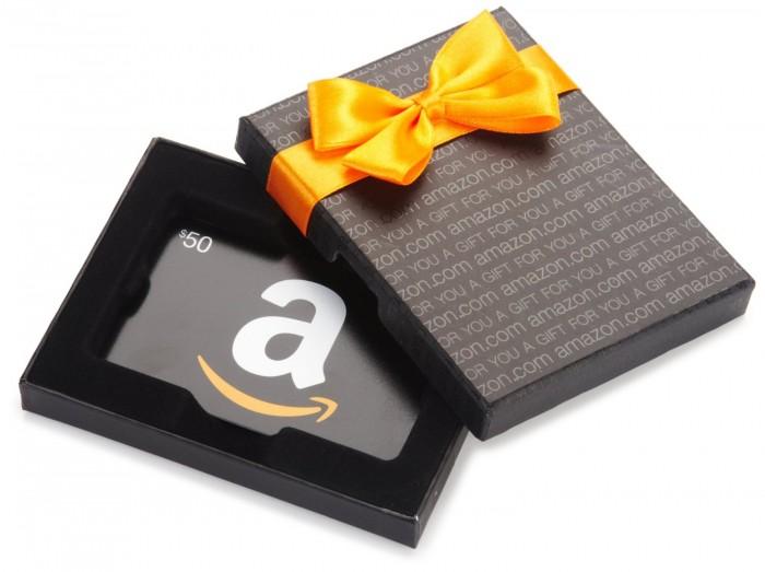 网购50元 Amazon 礼品卡送10元电子消费券!