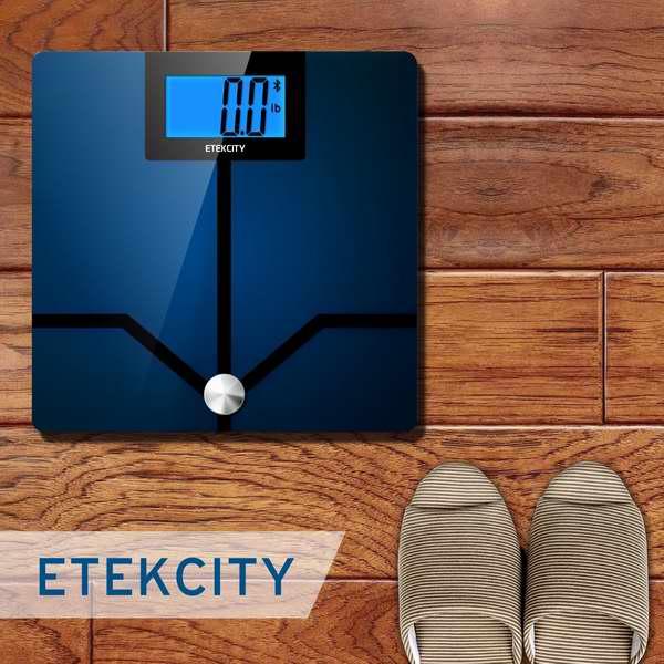 Etekcity 高精度蓝牙智能数字体脂/体重分析秤 4.6折 45.99加元限时特卖并包邮!