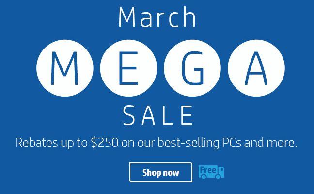 HP Mega Sale 特卖开售,精选多款笔记本、台式机、打印机等最高立减250元,满100元再立减25元!HP Z4000无线鼠标立省25元仅售9.99元,HP Elite v2无线键鼠套装立省50元仅售39.99元!