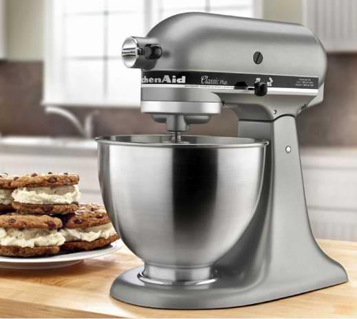 手慢无!KitchenAid KSM75SL 4.5夸脱 经典立式多功能搅拌厨师机5折 199加元包邮!
