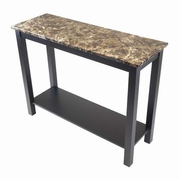 Winsome Wood 人造大理石台面堂桌/玄关桌2.1折 46.24元清仓并包邮!