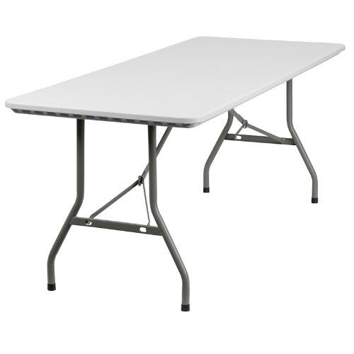 Flash Furniture RB-3072-GG 1.82米商用级便携式折叠桌1.6折 31.16元清仓并包邮!
