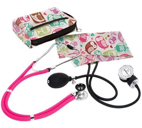 Prestige Medical A2-OCM 卡通猫头鹰 医用听诊器及血压计套装1.4折 10.92元清仓!