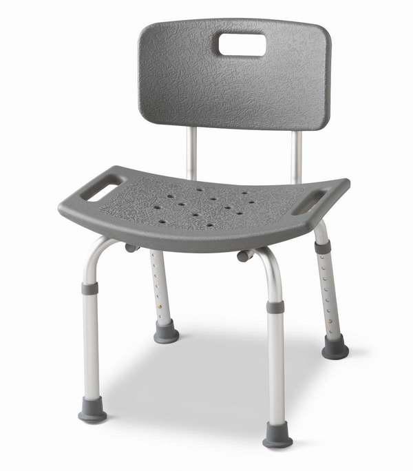 Medline MDS89745R 铝制老人沐浴椅2件套2.7折 30.17元清仓并包邮!