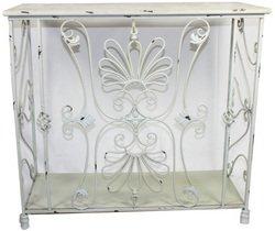 Essential Décor Entrada Collection 木质桌面钢结构装饰桌2.8折 59.02元清仓并包邮!