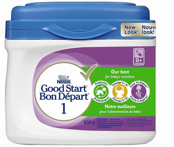 Amazon精选多款 Nestlé 雀巢 Good Start 婴儿配方奶粉特价销售!添加DHA和ARA!