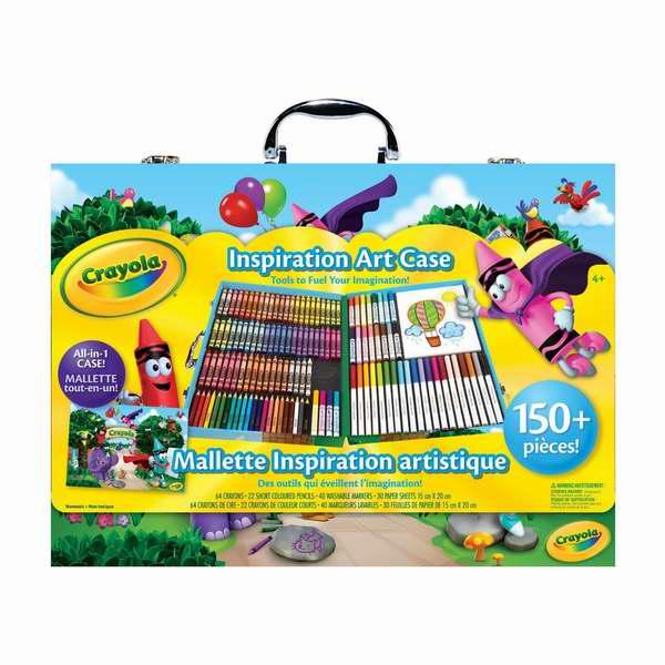 金盒头条:历史新低!Crayola 绘儿乐 灵感艺术儿童绘画156件套礼盒装4.8折 14.49元限时特卖!