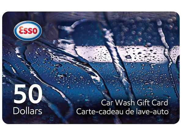 Esso 洗车卡50元限时仅售37元,100元仅售72元!新用户3.7折,50元折后18.5元,100元折后42元!