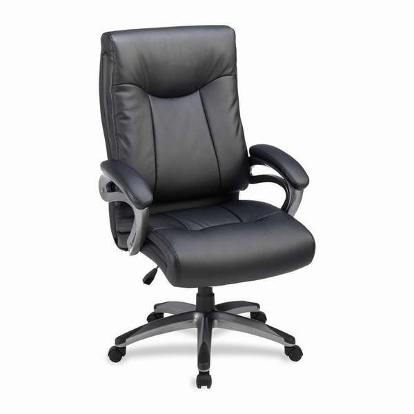 Lorell 高靠背皮制办公椅3.5折 161.99元限时特卖并包邮!