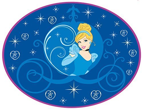 Disney Cinderella 灰姑娘浴室卧室地垫2.8折 19.99元限时特卖!