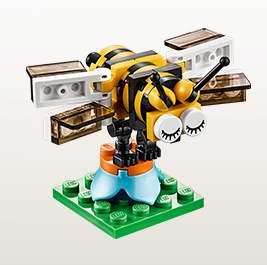 明日9时开放注册!LEGO店内4月5日-6日小朋友搭建并免费赠送乐高迷你小蜜蜂模型!