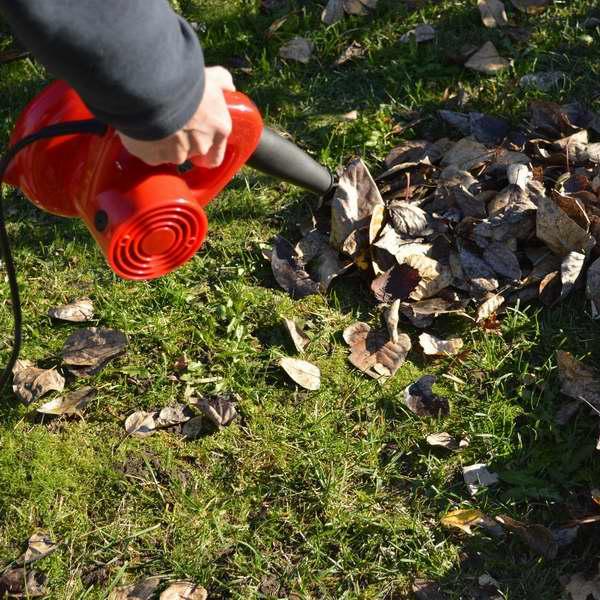 历史新低!GardenHOME 便携电动强力鼓风机/吹叶机/吸尘器3.7折 22.39元限量特卖!