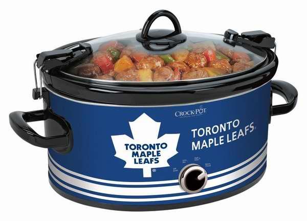 历史新低!两款 Crock-Pot NHL 多伦多枫叶队/卡尔加里火焰队 授权6夸脱慢炖锅4.4折 24元限时清仓!