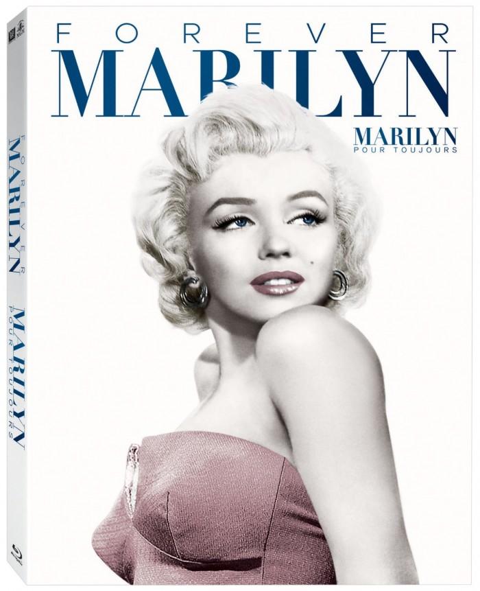 永远的玛丽莲·梦露电影合集蓝光影碟版7碟装1.6折 21.99元限时特卖!