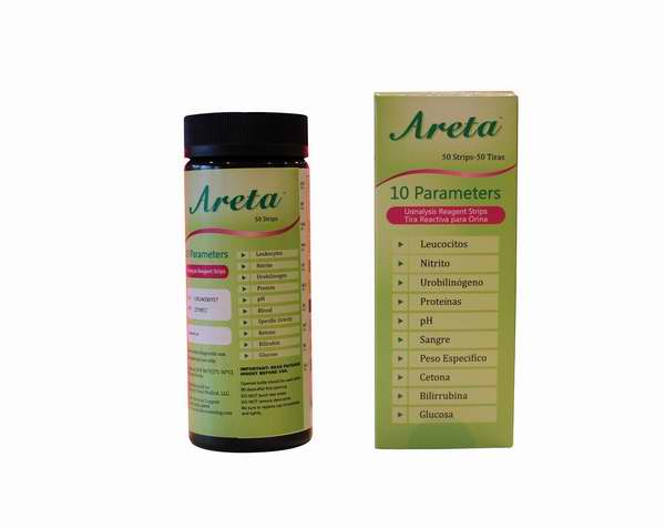 一次测定10指数!Easy Home Areta 10SG 尿液试纸50条装2.4折 8.98元限时特卖!