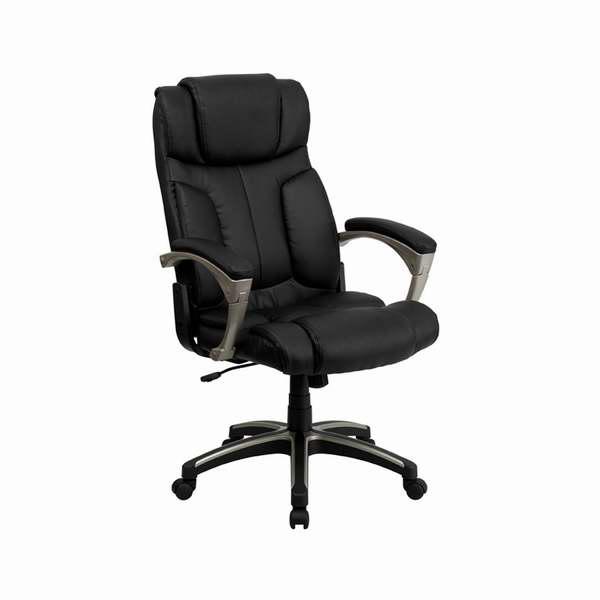 Offex BT-9875H-GG 高靠背真皮旋转办公椅2.9折 153.54元清仓并包邮!