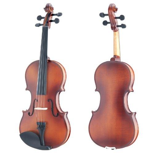Mendini 4/4 MV300 Full Size 实木小提琴套装3.5折 84.99元特卖并包邮!
