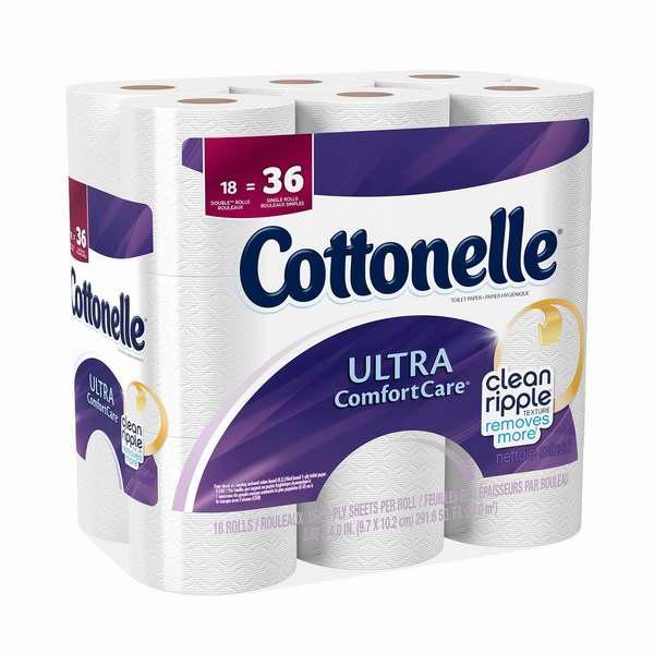 Cottonelle 18卷超软卫生纸5.3折 7.98元限时特卖!