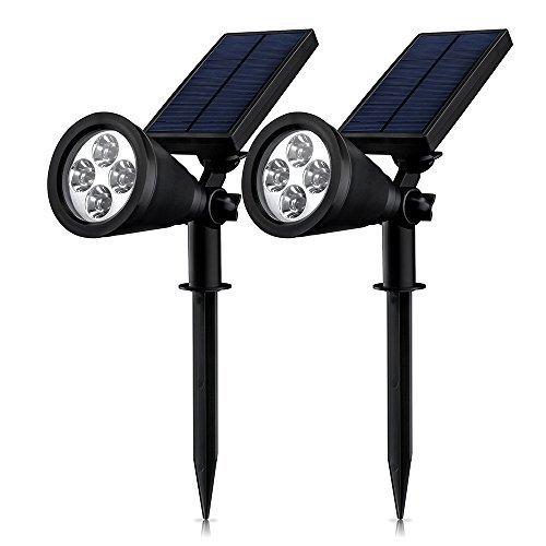 Mpow Soleil P2 超亮太阳能户外防水射灯两件套 33.99加元限量特卖并包邮!