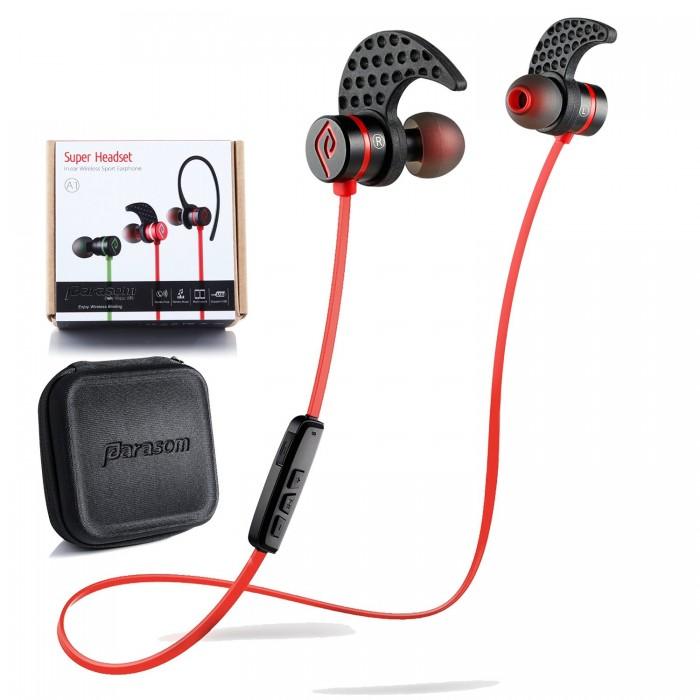 Parasom A1 蓝牙V4.1立体声入耳式降噪运动耳机 26.98元,原价 169.99元,包邮