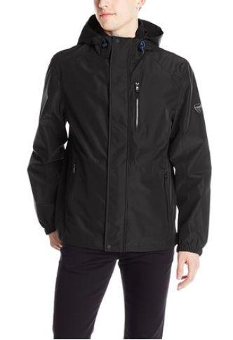 Calvin Klein 男士防水防风带帽夹克(三种颜色可选)86元特卖,原价265元,包邮