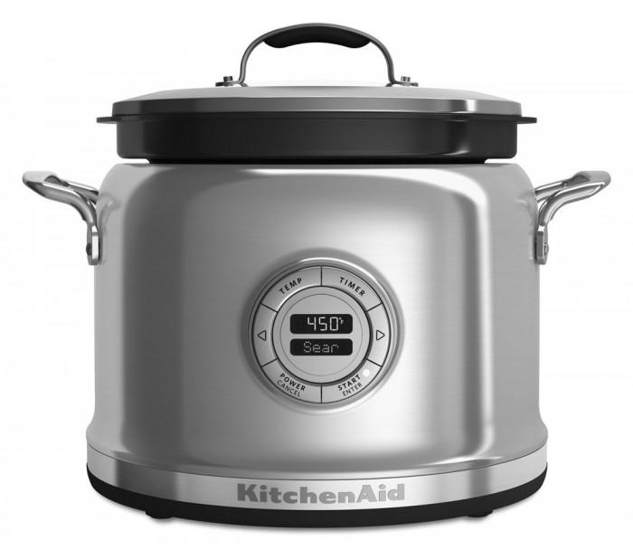 历史新低!Whirlpool KitchenAid KMC4241SS 多功能不锈钢电磁炉5折 199.88加元限时特卖并包邮!