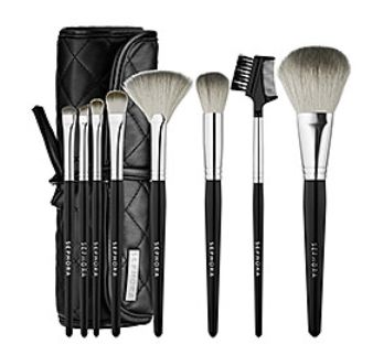 SEPHORA COLLECTION Tools Of The Trade Brush Set 化妆工具套装62.9元,原价74元(价值190.00元),包邮