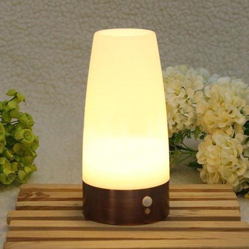 Signstek S无线移动红外线感应LED小夜灯/台灯22.99元特卖!五款可选