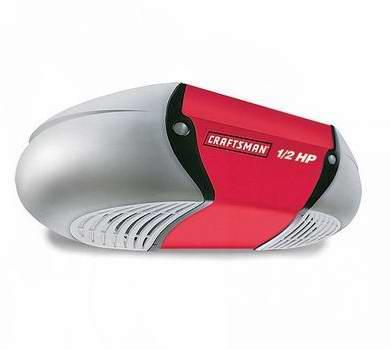 CRAFTSMAN/MD ½-HP 链式驱动智能车库开门器135元特卖,原价299.99元,包邮!