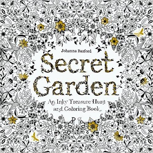 Secret Garden秘密花园最潮的解压涂色本 12.98元特卖,原价22.5元