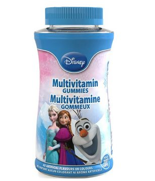 Disney 180粒冰雪奇缘复合维生素软糖9.85元特卖,原价15.49元