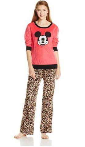 Disney迪士尼女士米老鼠睡衣套装12元起特卖,原价78元