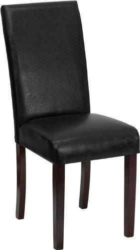 Flash Furniture BT-350-BK-LEA-023-GG 高靠背皮制餐椅4折 67.75元限时特卖并包邮!