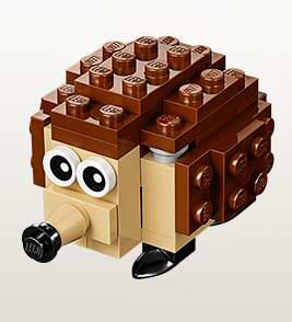 明日9时开放注册!LEGO店内5月3日-4日小朋友搭建并免费赠送乐高迷你刺猬模型!