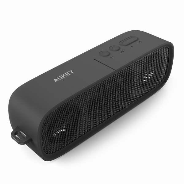 Aukey便携式无线蓝牙4.1音箱 27.99加元限量特卖!内置麦克风可接听电话!