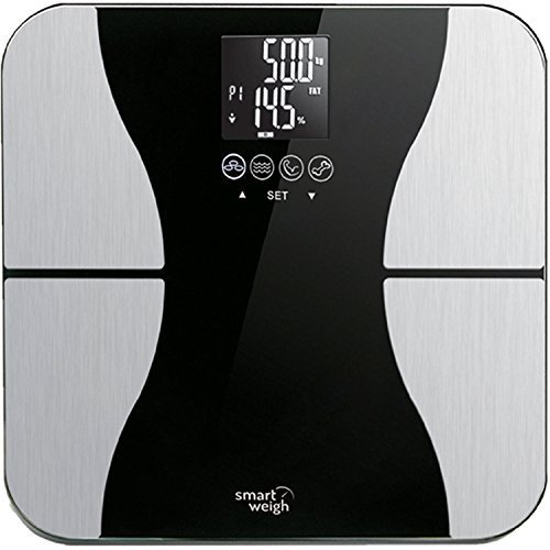 历史最低价!Smart Weigh 高精度智能电子体重秤5折 19.99加元!