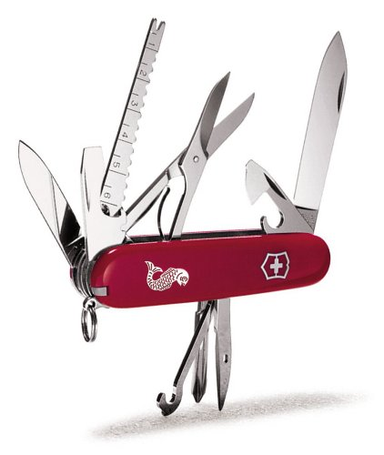 Victorinox 维氏正宗瑞士军刀 53541 多功能渔人口袋刀 48.73加元限量特卖并包邮!