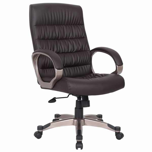 Leick 高靠背人造革旋转办公椅4.8折 96.98元限时特卖并包邮!