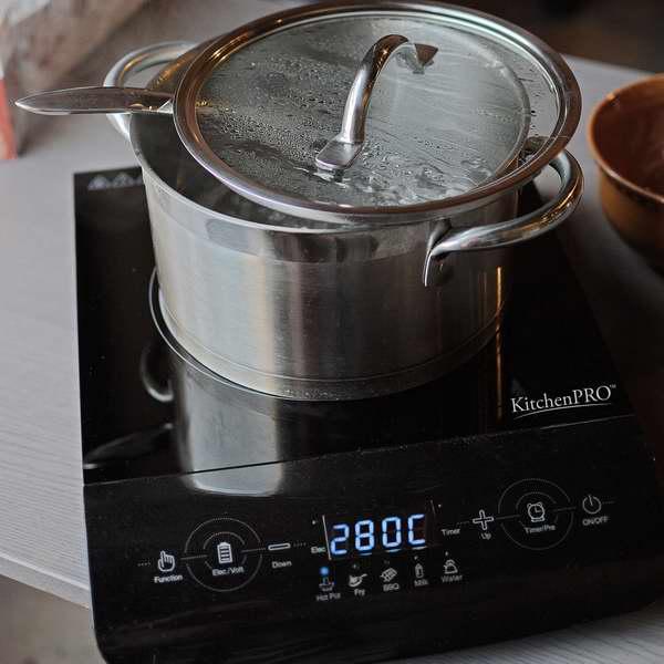 KitchenPRO 便携式多功能电磁炉5折 59.75元限量特卖并包邮!
