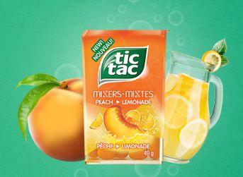 免费申请两种 Tic Tacs mixers 混合口味的嗒糖
