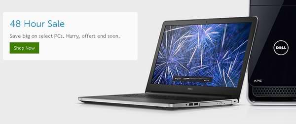 Dell 戴尔 48小时限时特卖,精选多款笔记本店内、台式机及配件等最高立减319元,笔记本售价低至329.99元!