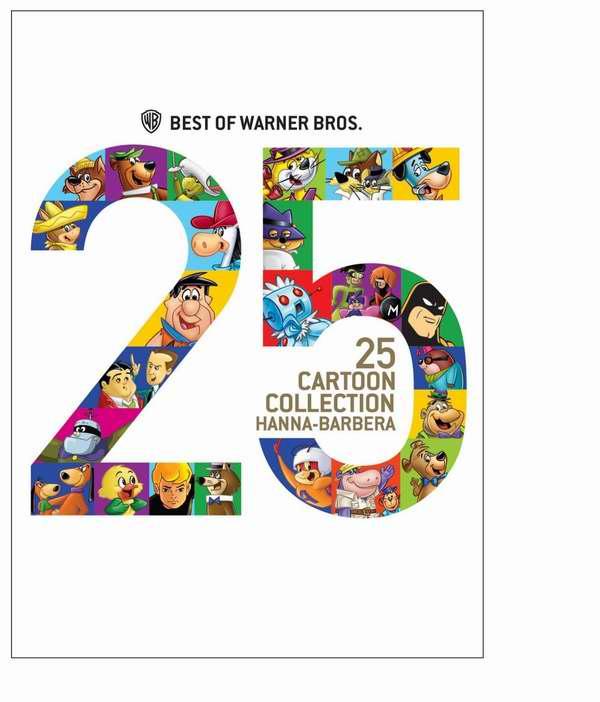 华纳兄弟 Hanna-Barbera 最经典25部动画片DVD合集4.5折 8.99元限时特卖!