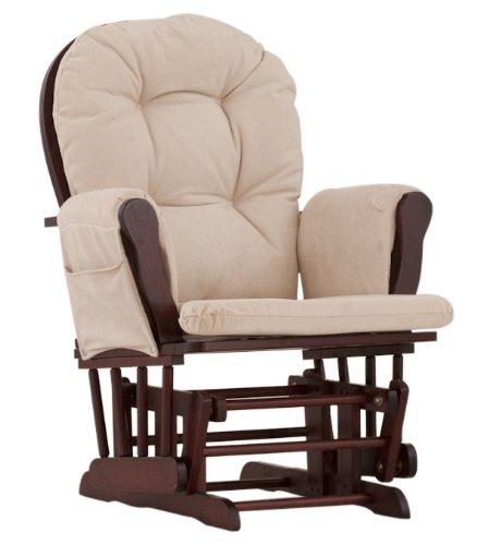 历史最低价!Stork Craft Hoop Glider 实木哺乳椅/育婴椅/软垫躺椅6.4折 99.99元限时特卖并包邮!